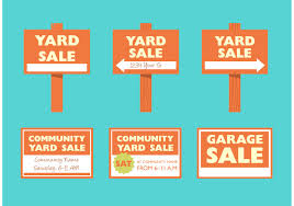 community yard sale free vector art 6333 free downloads