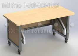 Office Desk Workstation Use Portable Workstation Desks To Replace Cubicles In Your Office