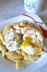 cuisine brousse recette italienne de pâtes à la brousse et œuf poché