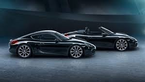 porsche supercar black porsche cayman black edition freshness mag