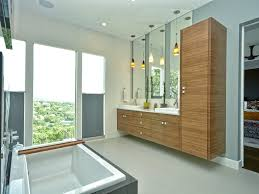 Floating Cabinets Bathroom San Francisco Floating Cabinets Powder Room Contemporary With
