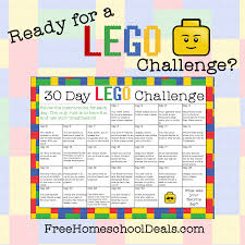 free printable 30 day lego challenge instant download free