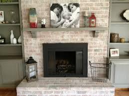 photos hgtv brick fireplace with cedar mantel loversiq