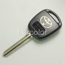 toyota key replacement toyota land cruiser remote key replacement shell 98 07 ebay