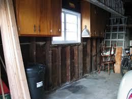 Kitchen Cabinets In Garage Garage Workbench