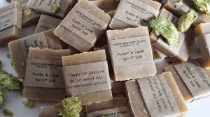 wedding favor our wedding favor soaps are a bit hit whats on tap