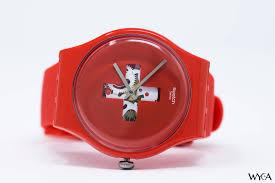 red swatch swatch originals around the clock watch reviews wyca