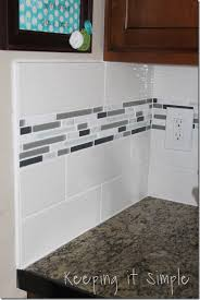 how to install a kitchen back splash with wavecrest and mosaic