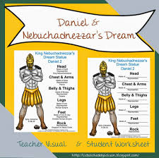 bible lesson and free printable daniel u0026 nebuchadnezzar u0027s dream