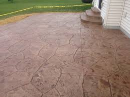 Flagstone Stamped Concrete Pictures by Portfolio Orchard Stone Ageless Concrete