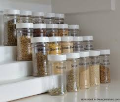 As Seen On Tv Spice Rack Organizer Remodelaholic How To Build An Easy Tiered Spice Rack