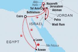 Where Is Israel On The Map Israel Tours U0026 Travel Intrepid Travel Us