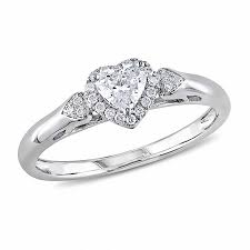 heart shaped diamond engagement ring heart wedding zales