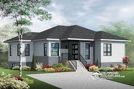 3 Bedroom House With Basement House Plan W3133 V3 Detail From Drummondhouseplans Com