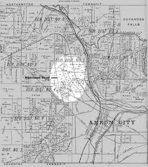 Map Akron Ohio by