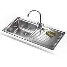 inset kitchen sink franke galassia inset kitchen sink 18 10 stainless steel 1 bowl