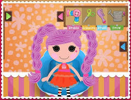 lalaloopsy loopy hair get styling in our loopy hair salon you can cut braid clip