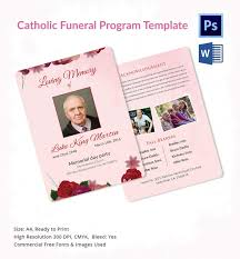 5 catholic funeral template u2013 free word pdf psd documents