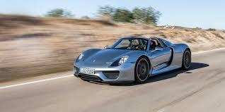 porsche 918 2015 porsche 918 spyder vehicles on display chicago auto show