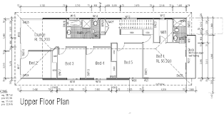 Narrow Block Floor Plans Narrow Block Plan And Kit Home Home Plans Floor Plans Houseplans