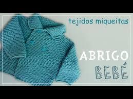 sueter tejido a dos agujas youtube tutorial para tejer abrigo para niño o niña en dos agujas subtitles