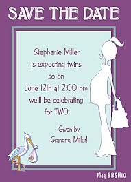 baby shower save the date storks delivery baby shower save the date magnet