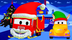 tom the tow truck u0027s paint shop frank is santa claus christmas