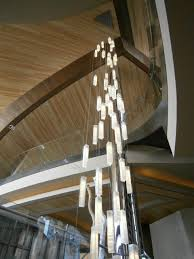 Foyer Lighting For High Ceilings Modern Lighting For Foyer Modern Entry Stairway Lights For High