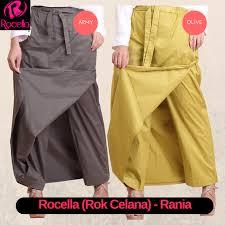 rok muslimah rok celana muslimah murah rok celana batik rok celana akhwat
