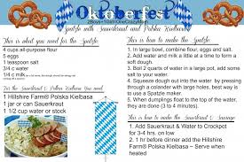 oktoberfest menus and recipes dish up an authentic german oktoberfest recipe for your friends