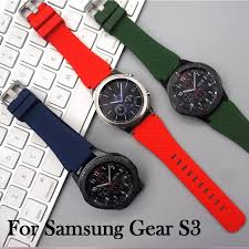silicone bracelet watches images For samsung gear s3 classic frontier sports silicone bracelet jpg