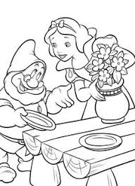snow white coloring pages kids printable free coloring