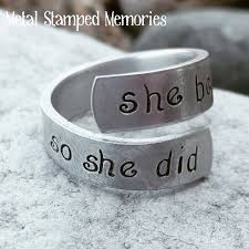 stackable rings with children s names angel jewelry gifts of angel rings and earrings metal