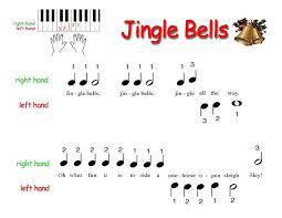 piano pianosoftware jingle bells notes piano sheet