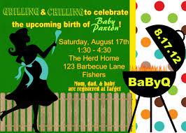 bbq baby shower invitations margusriga baby party backyard baby