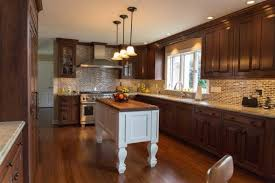 Walnut Kitchen Cabinets Classic Walnut Kitchen Remodel In Rochester Ny Concept Ii