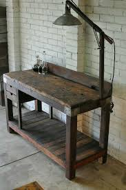 vintage kitchen work table vintage work bench made with old growth wood great piece for