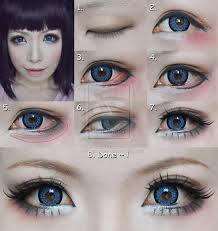 dolly eyes makeup tutorial suit for cosplay by mollyeberwein on deviantart
