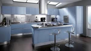 italian modern kitchen stunning blue silver italian modern kitchen ideas with island and