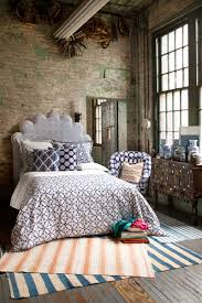 Bedroom Ideas With Gray Headboard Bedroom Covering Your Bed With Beautiful Bedding By John Robshaw