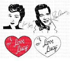 ricky recardo i love lucy bundle lucy lucille ball desi arnaz ricky ricardo svg