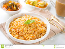 biryani indian cuisine indian vegetarian biryani rice stock image image of hyderabadi