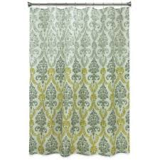 Green And Gray Shower Curtain Buy Gray Textured Shower Curtain From Bed Bath Beyond