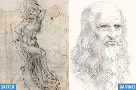retired doctor discovers 12m da vinci sketch hidden inside his