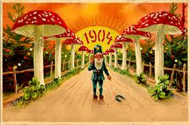psychedelic mushroom holiday cards retronaut fungus amungus