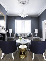 Dark Gray Living Room Furniture by White Sofa With Gray Chairs Transitional Living Room
