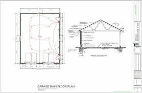 floor plans for garages amazing 36 x 46 workshop garage floor plans blueprints throughout