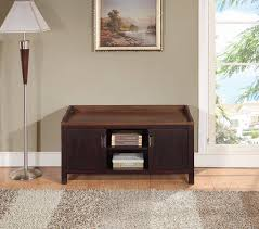 amazon com simpli home dorset entryway storage bench 42