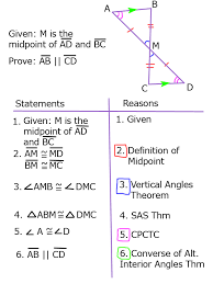Example Of Alternate Interior Angles Proving Lines Parallel With Triangle Congruence Sss Sas Aas And