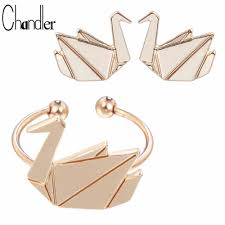 compare prices on origami crane ring online shopping buy low